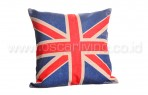 Bantal Sofa Decoration Motif England Flag Q2879